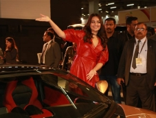 Sonakshi Sinha At Launch Of DC Cars At Auto Expo 2018 Photos