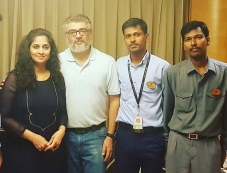 Actor Ajith Kumar Spotted with Fan Photos