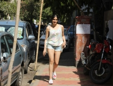 Adah Sharma Spotted At Kitchen Garden Bandra Photos
