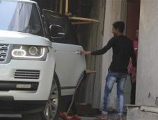 Ahan Shetty's Girlfriend Spotted At Bandra Photos