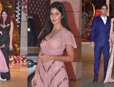 Bollywood Celebs At Akash Ambani Enagement Bash In Mumbai Photos