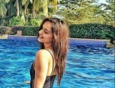 Miss World Manushi Chillar Raises The Heat In Bikini Photos