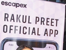 Rakul Preet Singh Launches her Official Mobile App Photos