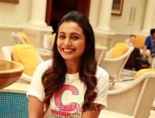 Rani Mukherjee Photoshoot For Upcoming Film Hichki In New Delhi Photos