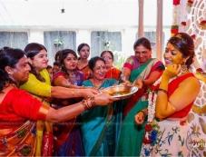 Meghana Raj Mehendi Ceremony Photos Photos