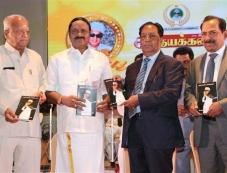 Suriya & Karthi Launch Naan Kanda Mgr Book Launch Photos Photos