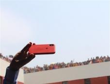 Varun Dhawan Promotes October At  Delhi College Photos