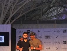 Virat Kohli Launch His Signature Head wear Collection Photos