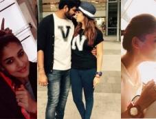 Nayantara And Vignesh Romantic Photos Photos