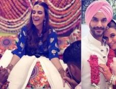 Neha dhupia & Angad Bedi Marriage Photos Photos