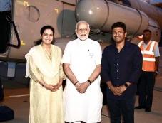 Puneeth Rajkumar Meets PM Narendra Modi Photos