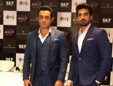 Boby Deol and Shaqib Saleem Promotes Race 3 in Delhi Photos Photos