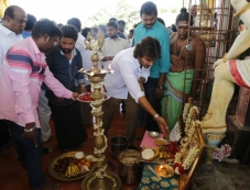 Gypsy Movie Pooja Function Photos