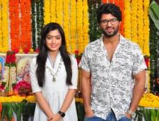 Vijay Deverakonda  Dear Comrade Movie Launch Photos