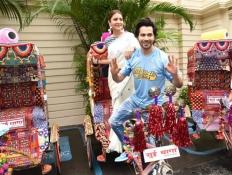 Anushka Sharma and Varun Dhawan Promote Sui Dhaga In Kolkata