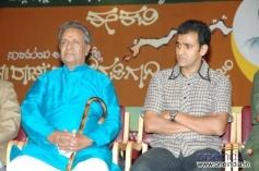 Raghavendra Rajkumar with KS Ashwath