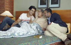 Zayed Khan, Farida Jalal and Satyadeep Misra