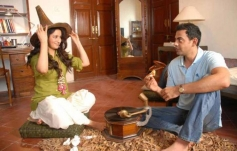 Tisca Chopra and Cyrus Sahukar