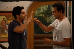 Zayed Khan and Cyrus Sahukar