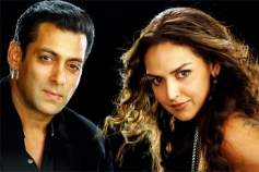 Salman Khan and Esha Deol