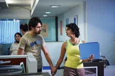 Imran Khan and Poorna Jagannathan