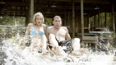 Sara Paxton and Dustin Milligan