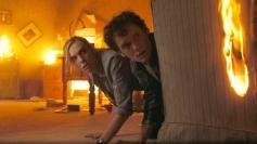 Toni Collette and Anton Yelchin
