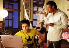 Emraan Hashmi and Ajay Devgn