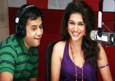 Omi Vaidya and Shraddha Das
