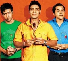 Emraan Hashmi, Ajay Devgn and Omi Vaidya
