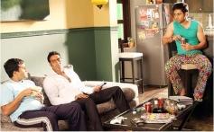Omi Vaidya, Ajay Devgn and Emraan Hashmi
