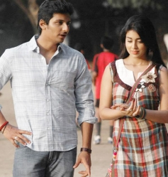 Jeeva and Shriya Saran