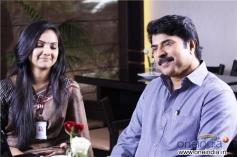 Samvrutha Sunil and Mammootty