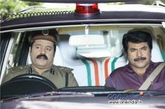 Suresh Gopi and Mammootty