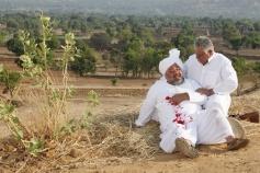 Manoj Pahwa and Om Puri