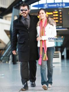 Ajith Kumar and Bhavana