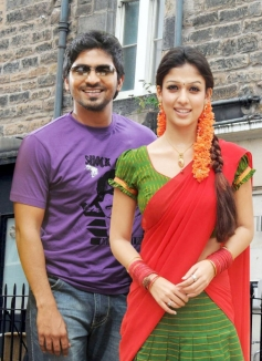 Vaibhav Reddy and Nayanthara