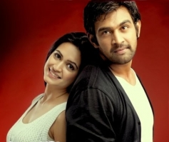 Kruthi Kharbanda and Chiranjeevi Sarja