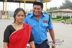 Shruti and Prakash Raj