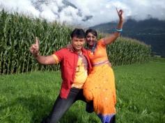 Darshan and Navya Nair