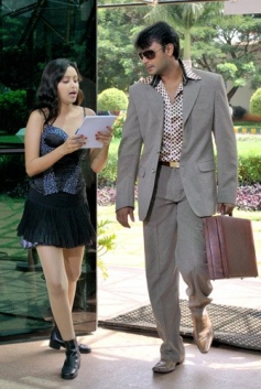 Rekha and Darshan