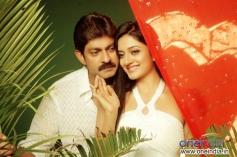 Jagapati Babu and Vimala Raman