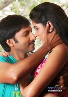 Gopichand and Deeksha Seth