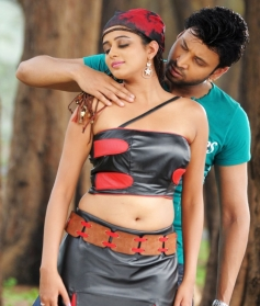 Priyamani and Sumanth