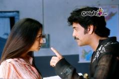 Nagarjuna Akkineni and Jyothika