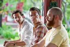Bradley Cooper, Ed Helms and Zach Galifianakis