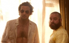 Bradley Cooper and Zach Galifianakis