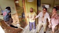 Zach Galifianakis, Bradley Cooper and Ed Helms