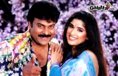 Chiranjeevi and Anjala Zaveri