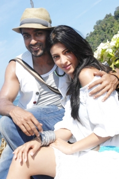 Suriya and Shruti Haasan
